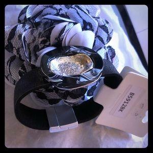 Unique marble face designer bracelet
